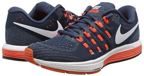 pretty nice 2abfa b3cf0 Nike Mens 8 Air Zoom Vomero 11 Running Training Shoes Blue Orange  818099-401 for sale online   eBay