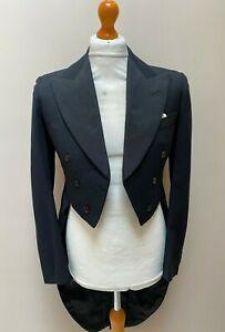 Vintage Bespoke 1930 S Austin Reed White Tie Tailcoat Evening Tails Size 38 Ebay