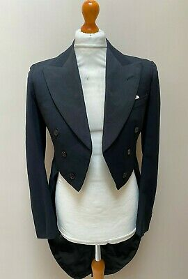 Vintage Bespoke 1930 S Austin Reed White Tie Tailcoat Evening Tails Size 38 Ebay