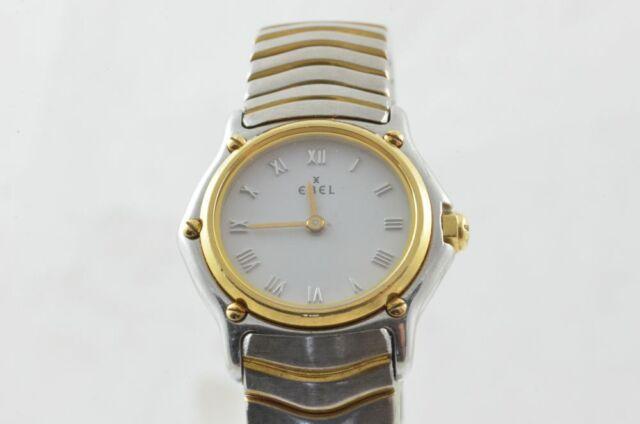 Ebel Sport Classique Mini 23mm Women's Watch 1057901 White Nice