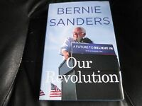 Bernie Sanders Signed - Our Revolution Limited First Hardcover Edition 2016