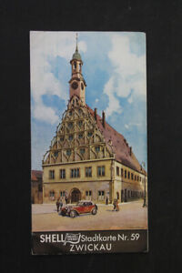 alte-Karte-Stadtkarte-Zwickau-Nr-59-old-vintage-Sammler