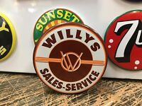 Classic Willys - Sales & Service Top Quality Magnet
