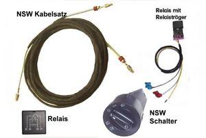 kabelbaum relais sockel lichtschalter nsw. Black Bedroom Furniture Sets. Home Design Ideas