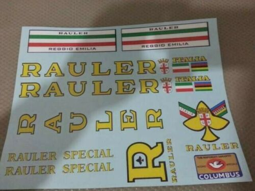 Kit adesivi compatibili Rauler set G01 old decal