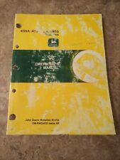 John Deere 4555 4755 And 4955 Operators Manual Issue A9