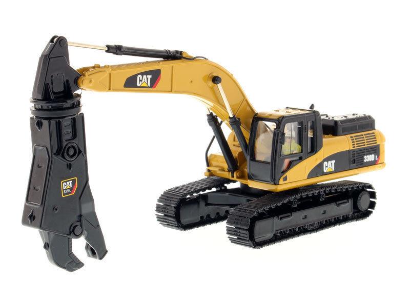 1/50 Diecast Caterpillar 330D L Hydraulic Excavator with Shear #85277 Car Model