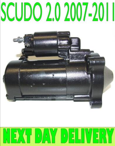 FIAT SCUDO 2.0 D MULTIJET 2007 2008 2009 2010 2011 /> on STARTER MOTOR 2.3Kw
