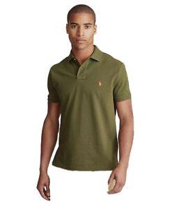 Men's Polo Ralph Lauren Custom Slim Fit Cotton Polo Shirt ...