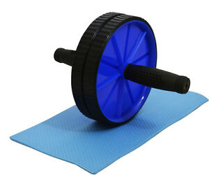 ABS-ABDOMINAL-ROLLER-EXERCISE-WHEEL-GYM-FITNESS-BODY-MACHINE-STRENGTH-TRAINING