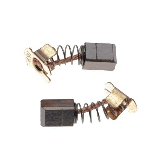 6317 DWDE 6319 DWFE 2x Balais Charbon 7 x 7,3 x 11 mm pour Makita 6316 DWFE