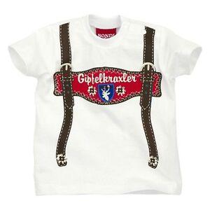 Bondi T-shirt Süßes Trachtenshirt Gr. 62 Bis 116 Neu 100 % Baumwolle Durch Wissenschaftlichen Prozess