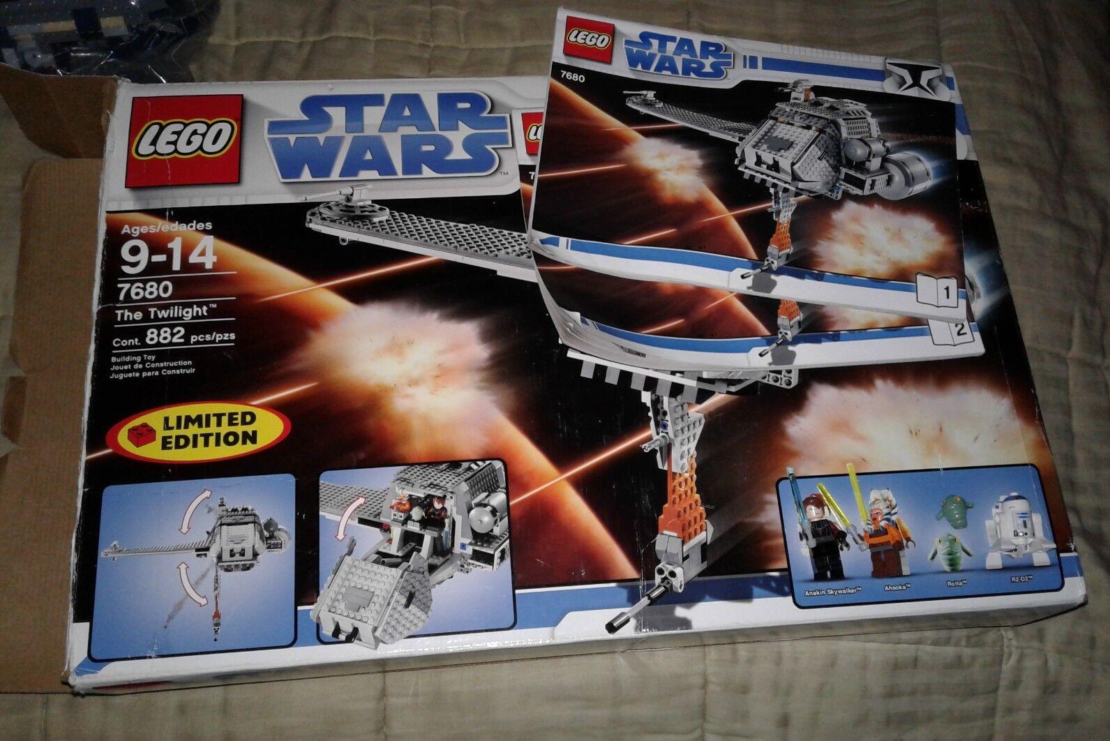 LEGO Star Wars Clone Wars The Twilight (7680) LIMITED EDITION SET
