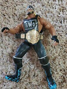 1999-Toy-Biz-WCW-WWE-NWO-Hollywood-Hulk-Hogan-Smash-N-Slam-Action-Figure-loose