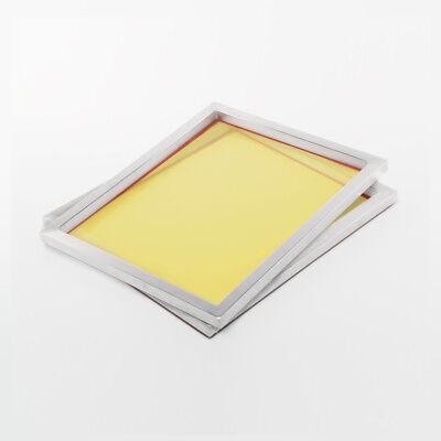2x 90T Siebdruckrahmen 61x51cm A3+ | Alu-Rahmen für feinen Siebdruck | Sieb