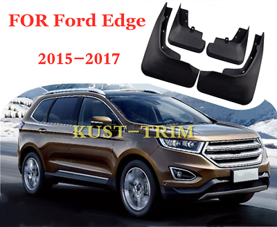 Car Mudguards for Ford Edge 2015 2016 2017 2018 Car Mudguards Fender Splash Guards Mud Flaps Accessories Front and Rear Set of 4Pcs