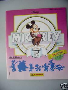 Sammelbilderalbum-Mickey-1992-Panini-komplett