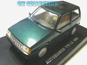 1-43-AUTOBIANCHI-Y10-LX-1986-colore-verde-green-color