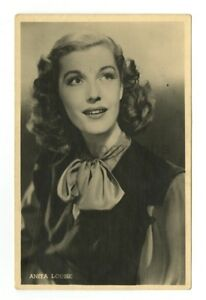 Anita-Louise-Classic-Actress-Vintage-Real-Photo-Postcard-RPPC
