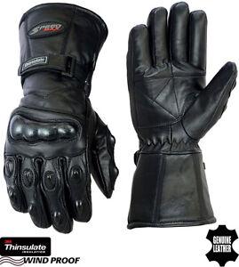 Thermique-Impermeable-Phalanges-Carbone-Hiver-Moto-Gants-Cuir