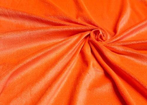 Nicki Plüsch Stoffe Neonfarben mit dezentem Glitzer dehnbar Karneval Fasching