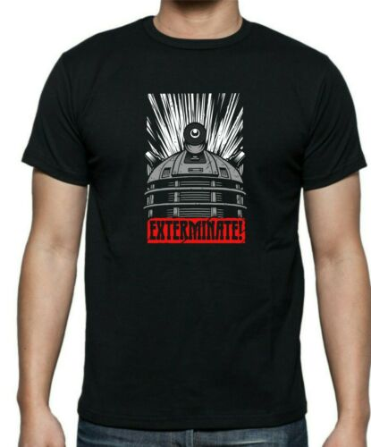 Dr Who DALEK EXTERMINATE Obey Style T-shirt  Up to 5XL