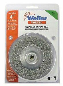 """Lot of 5 Weiler Brush 15811 1/"""" Horsehair Wheel Brush CH-1"""