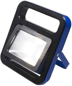 as-Schwabe LED Akku Baustrahler IP54 Mobile 700lm Bau Strahler Fluter mit Magnet