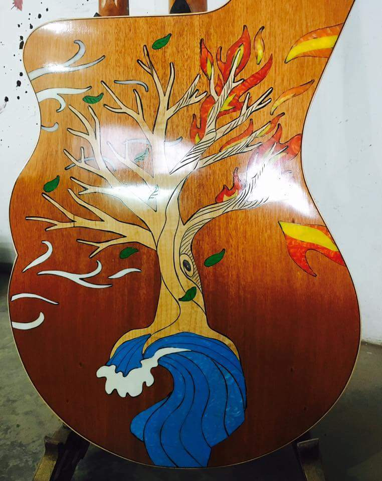 Blauberry Blauberry Blauberry Special Order GUITHARPULELE  FIVE INSTRUMENTS - 120 Day  Delivery 83c7ae