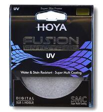 Hoya 62mm Fusion ANTISTATICI FILTRO UV-nuovo Regno Unito STOCK