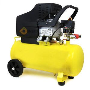 3 5hp motor pneumatic portable air compressor 125 psi 10 for 50 hp electric motor price