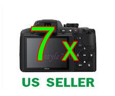 7x Nikon Coolpix P510 Digital Camera Clear LCD Screen Protector Guard Film
