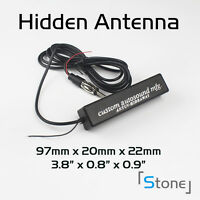 Hidden Antenna Radio Stereo Am Fm Stealth Universal Vehicle Car Truck Motorcycle