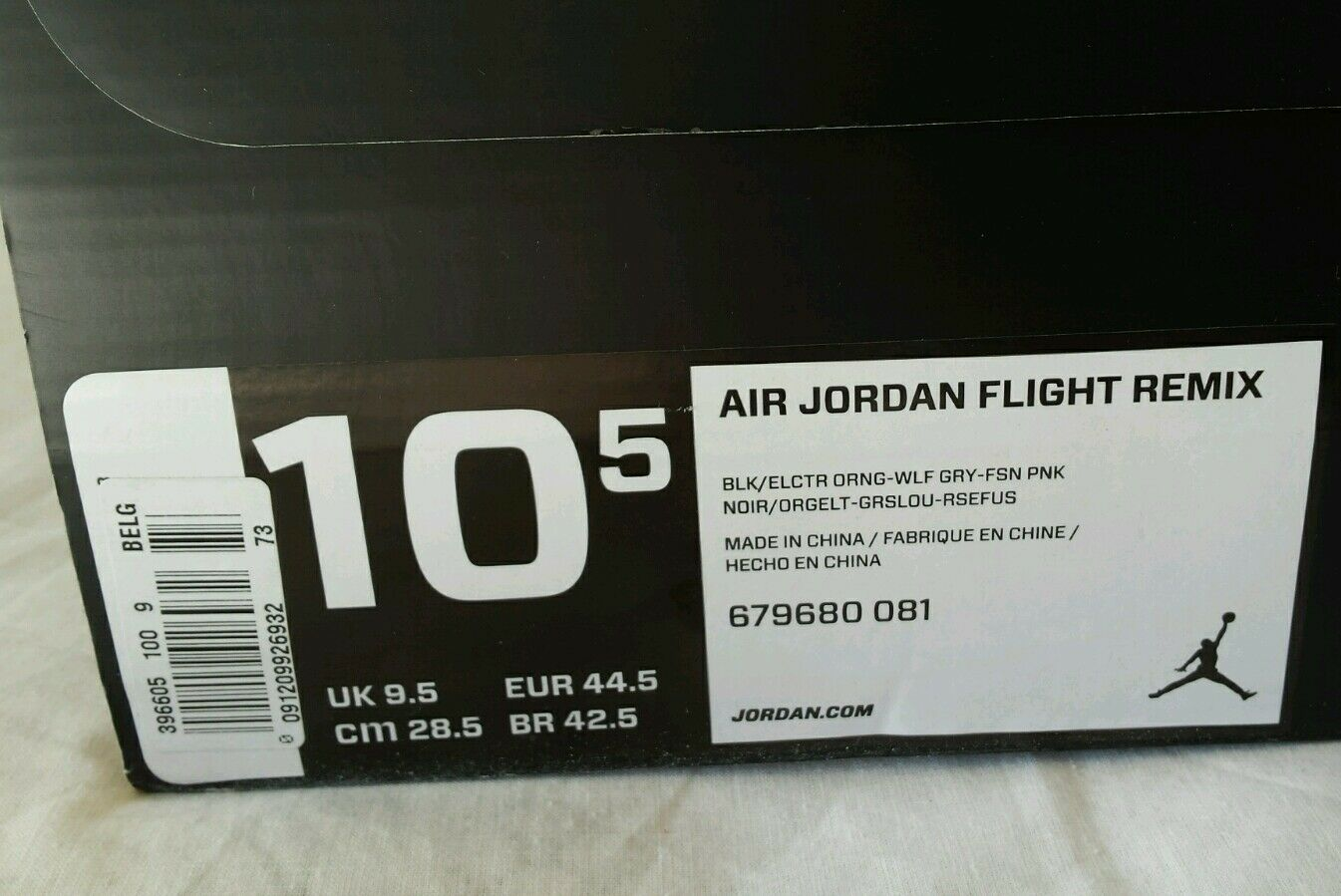NIKE AIR JORDAN 16 FLIGHT SPETTACOLO REMIX N.44,5 NERA SPETTACOLO FLIGHT DA COLLEZIONE OKKSPORT 97 c843c3