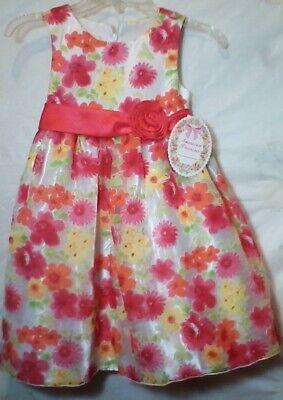 Girls American Princess Floral Dresses Size 5-12