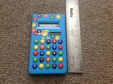 Promotional M & m's Blue Vintage Solar Powered Calculator