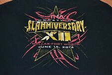 TNA Wrestling Slammiversary XII 2014 Dallas Fort Worth T Shirt 3XL XXXL E Young
