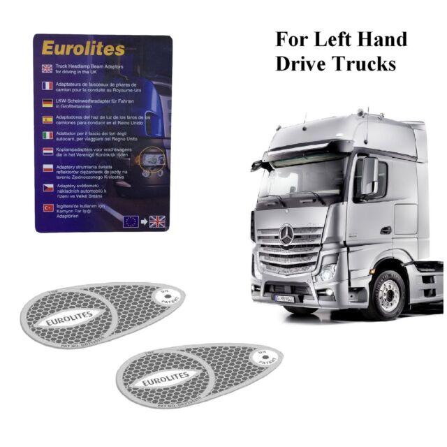 Truck Headlight Beam Deflectors Headlamp Converters For Left Hand