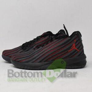 quality design d34ba 81f76 Details about Jordan B. Fly BG Boy's Woven textile Basketball Shoes  Black/Gym Red-Dark Grey