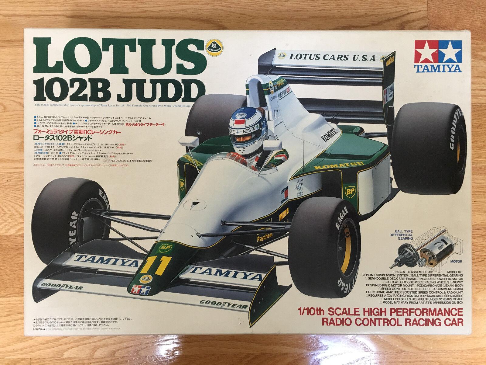 Vintage 1991 Tamiya Tamiya Tamiya Lotus 102B Judd 1/10 RC  58095 NIB c44b9f