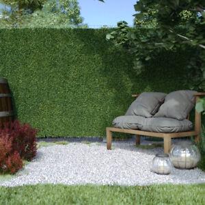 Détails sur Haie artificielle en PVC pour balcon, terrasse ou jardin, 3  mètres de largeur