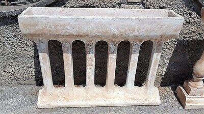 Recinzioni Per Giardino In Cemento.Fioriera Recinzione Balaustra Moderna Cemento Pietra Marmo