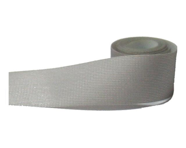 1M Textile repair tape DIY waterproof seam sealing jacket iron fix black grey