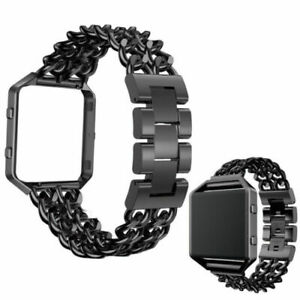 Premium-Strap-Frame-Stainless-Steel-Watch-Band-for-Fitbit-Blaze-Fitness-Watch