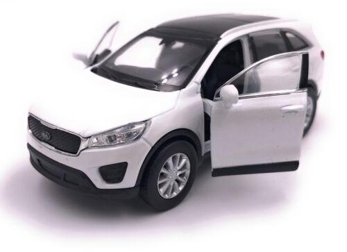 KIA SORENTO modello di auto auto prodotto con licenza 1:34-1:39 diversi colori