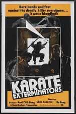 Karate Exterminators Poster 01 Metal Sign A4 12x8 Aluminium