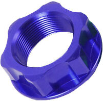 ZETA STEERING STEM NUT /& BOLT BLUE M24X30-P1.5 H14 ZE58-2152