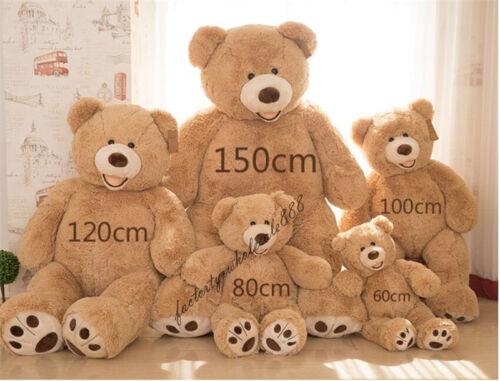 2019 Giant Hung Big larger USA Teddy Bear Plush Soft BabyToys Doll Birthday Gift