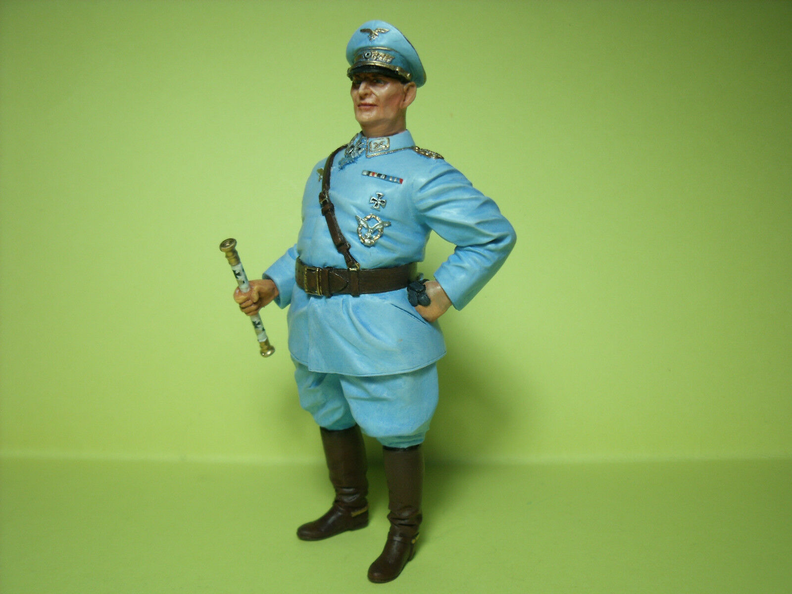 Alemán Mariscal Goering Guerra Mundial 2 figura pintada por Vroom