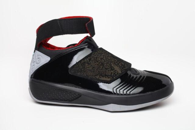 Nike Mens Sz 10.5 Air Jordan XX Basketball Shoe Black Stealth Red 310455 002 c9aa6e2e6